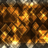 Abstract  background. Abstract background with transparent  rhombuses and stars Stock Image