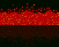 Abstract background. From squares for the designer Royalty Free Stock Photo