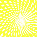Abstract background. Yellow abstract background over white Stock Image