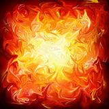 Abstract Background. A Fiery Abstract Background Pattern Royalty Free Stock Photography