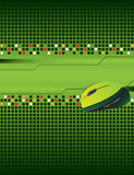 Abstract background. With computer mouse and place for your text Royalty Free Illustration