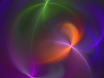 Abstract background. Generated abstract yellow-red background Royalty Free Stock Photo