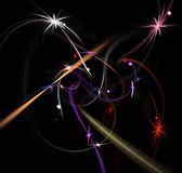 Abstract background. Illustration of colorfull abstract background Stock Photo