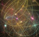 Abstract background. Illustration of colorfull abstract background Stock Photos