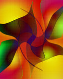 Abstract background. Computer designed colorful abstract background Royalty Free Stock Photo