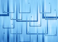 Abstract background. Made of overlapping squares Stock Image