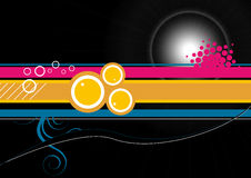 Abstract background. Vector illustration of abstract background for poster use Stock Image