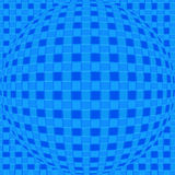 Abstract - background. Checked square sphere Stock Illustration