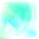 Abstract background. Soft abstract background with halftone pattern; illustration Royalty Free Stock Images