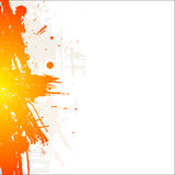 Abstract background. Grungy ink Stock Photography