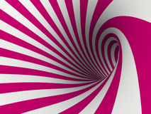 Abstract background. Purple curl 3D illustration Royalty Free Stock Photography