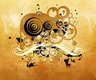 Abstract background. Black white and sepia tones vector illustration