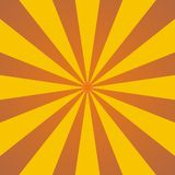 Abstract background. With yellow and brown rays Royalty Free Stock Images