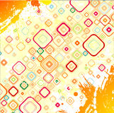Abstract background. Abstract grunge background. Vector mosaic Stock Photography