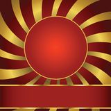 Abstract background. With label Stock Images