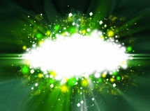 Abstract background. Green abstract background with copyspace Royalty Free Stock Image