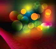 Abstract background. Multi-coloured abstract background for design royalty free illustration