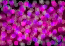 Abstract Background. Blurry Pink and Violet Lights on Black Background stock illustration