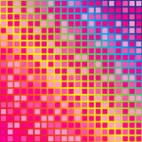 Abstract Background. Squares in shades of pink on gradient background / Vector vector illustration