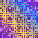 Abstract Background. Cubes in Shades of Violet on Rainbow Gradient Background / Vector royalty free illustration