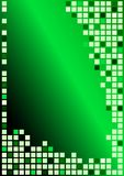 Abstract Background. Cubes in Shades of Green / Vector royalty free illustration