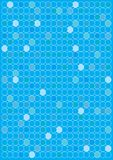 Abstract Background. Circles in Shades of Blue / Vector royalty free illustration