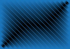 Abstract Background. Abstract Gradient Background - Illustration Metallic Blue Strips / Vector royalty free illustration