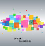 Abstract  background. Abstract colorful  on silver background Royalty Free Stock Images