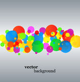 Abstract  background. Abstract colorful  on silver background Stock Photo