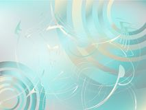 Abstract background. With waves, swirls, lines, gradients royalty free illustration
