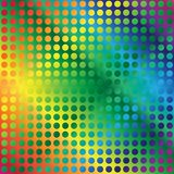 Abstract Background. Multicolor Circles on Gradient Background / Vector royalty free illustration