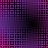 Abstract Background. Circles on Violet Gradient Background / Vector royalty free illustration