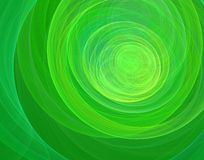 Abstract background. Abstract, green, swirl, tunnel background stock illustration