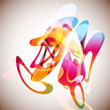 Abstract Background. Colorful abstract elements template background Stock Photo