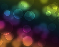 Abstract background. With colorful bubbles stock illustration