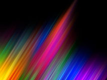 Abstract background. Abstract aurora design on a black background stock illustration