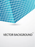 Abstract background. Nice blue mosaic background royalty free illustration