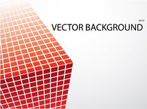 Abstract background. Nice red mosaic background royalty free illustration