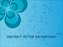Abstract background. Nice blue mosaic background stock illustration