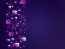 Abstract background. Abstract blue background with sparkling shapes Royalty Free Illustration