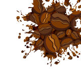Abstract background. Abstract coffee background, this  illustration may be useful  as designer work Royalty Free Stock Photo