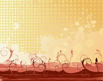 Abstract  background. With ornament shapes Stock Images