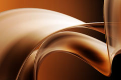 Abstract background. With 3d wavy shape Stock Photo