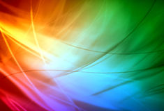 Abstract background. With colorful wave stock illustration