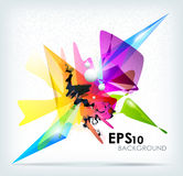 Abstract background. Vector EPS 10 illustration Royalty Free Stock Photo