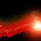 Abstract background. 3d abstract background with light Stock Photos
