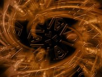 Abstract background. Abstract elements on the background Stock Photo