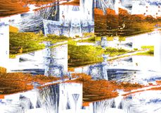 Abstract background. Abstract elements on the background Royalty Free Stock Image