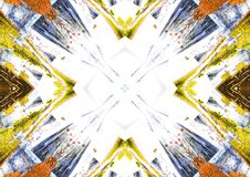 Abstract background. Abstract elements on the background Royalty Free Stock Photography