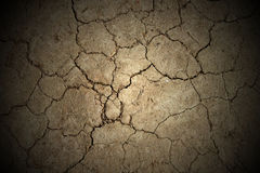 Abstract background. Cracked earth texture Stock Photos